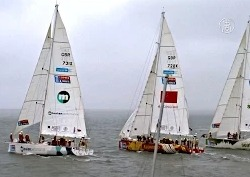 Яхтсмены-любители отправились в кругосветное путешествие