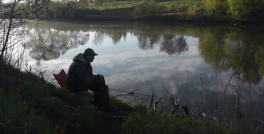 рыбалка на реке пахр