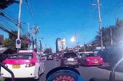 В Таиланде упал метеорит