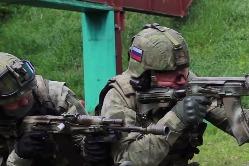 Сборы по огневой подготовке подразделения антитеррора