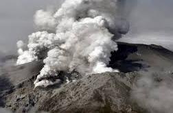 Проснулся вулкан Асо в Японии