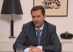 Интервью Башара Асада