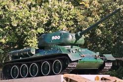 Молдова: Советский танк Т-34 был снят с постамента