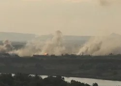 AFP reports: Танковая атака ВСУ на Старомихайловку
