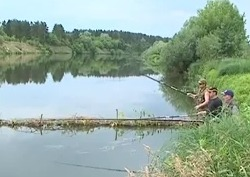 Рыбалка на реке Сура, поплавочная ловля