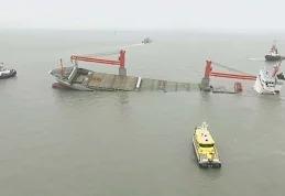 Сухогруз затонул у берегов Бельгии