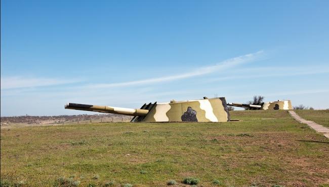 Большой тест-драйв: 30-я Береговая башенная батарея в Крыму