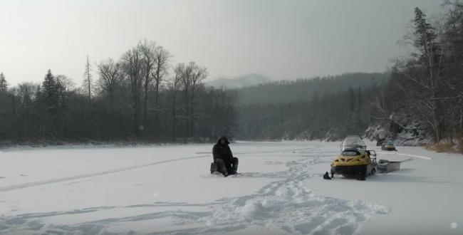 Зимняя рыбалка на Дальнем востоке