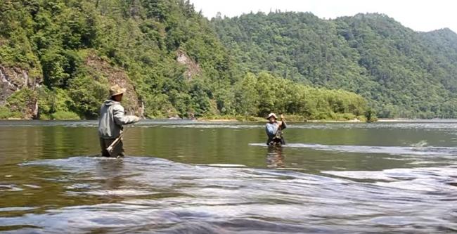 Рыбалка на реках Хабаровского края