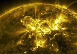 НАСА опубликовало видео солнца