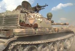 Сирийцы освобождают горные селения от боевиков.