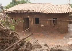 В Бразилии затоплено 100 км территории из за разрыв дамб