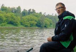 Колганов Виталий: Ловля леща на Москве реке
