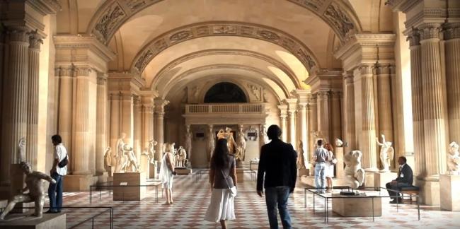 Видео экскурсия по шедеврам Лувра