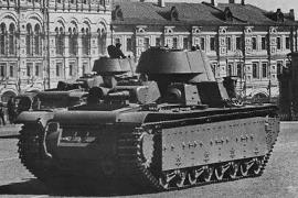 Лучшие танки СССР - Советские военные дредноуты Т-35, Т-100, СМК.