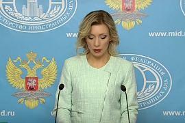 Брифинг Марии Захаровой (24.12.2015)