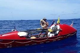 Британуц пересёк Тихий океан в одиночку