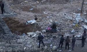 Видео: Последствия серии взрывов в Багдаде