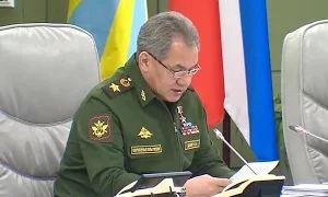 Шойгу: Три новые дивизии будут сформированы на западном направлении
