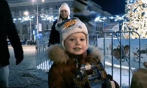Спаси Донбасс: Новогодний гумконвой Донецкий аэропорт. Встреча Нового года.