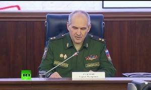 Видео: Брифинг Минобороны РФ на тему фальсификации об операции России в Сирии