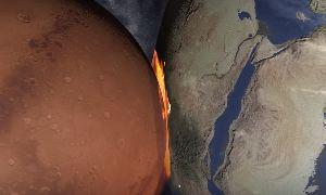 Если Марс столкнется с Землей - Universe SandBox 2