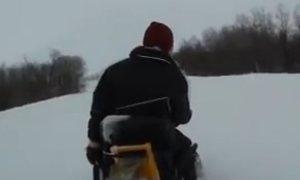 На заимке у Эда. Зима в Канаде