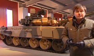 Танковый конвейер всемирно известных русских боевых машин.
