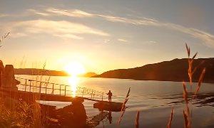 Мечта всей жизни порыбачить в Норвегии