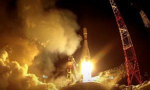 Старт Союз-2.1б со спутником ГЛОНАСС-М (Плесецк)