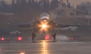 Российские Су-24 и Су-34: Боевые вылеты с авиабазы Хмеймим в Сирии