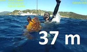 Подводная охота 37 м EXTREME DEEP с Pierluigi Leggeri