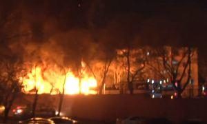 Видео: Взрыв  в Анкаре (17.02.2016)