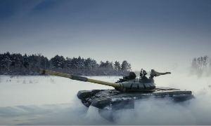 Полигон: Танк Т-72Б3