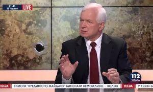 Экс-глава украинской разведки без порток