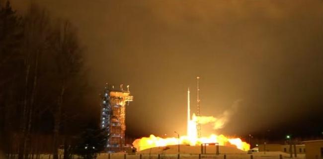 Ракета Рокот c КА Sentinel-3A, пуск с космодрома Плесецк.