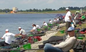 Минск: Чемпионат Европы по ловле рыбы поплавочной удочкой