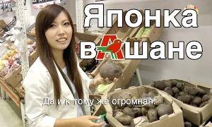 Шамов Дмитрий: Сравнение продуктов России и Японии (Японка Мики в Ашане)