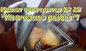 ПашАсУралмашА - может пригодится № 25 Копчение рыбы