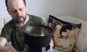 Виктор Рогов: ВЕДРОПЕЧЬ изготовление печки-щепочницы своими руками из ведра.