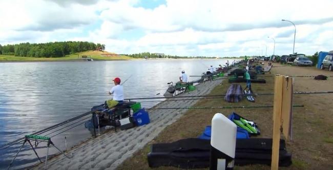Чемпионат Европы по ловле рыбы поплавочной удочкой в Минске