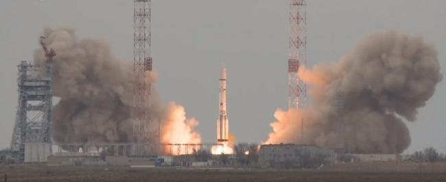 Пуск Протон-М с двумя космическими аппаратами миссии ExoMars-2016