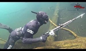Шкиль Игорь: (КОМПАС №22) Подводная охота на Десногорском водохранилище