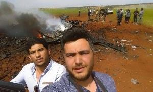 Над Алеппо сбит Су-22 (Сирийский)