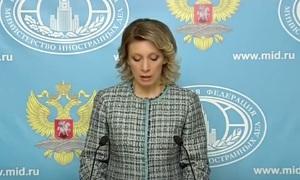 Еженедельный брифинг: Официальный представитель МИД РФ Мария Захарова.