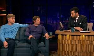 Вечерний Ургант: Дмитрий Брекоткин и Андрей Рожков.