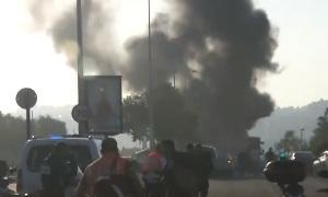 В Иерусалиме взорвался автобус, есть пострадавшие