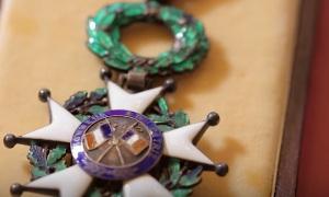 Французская награда Российскому офицеру Александру Прохоренко