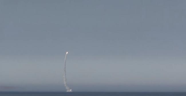 АПЛ Северодвинск: крылатой ракетой Калибр