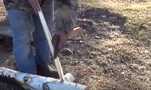Тайга моя заветная: Как сделать топорище